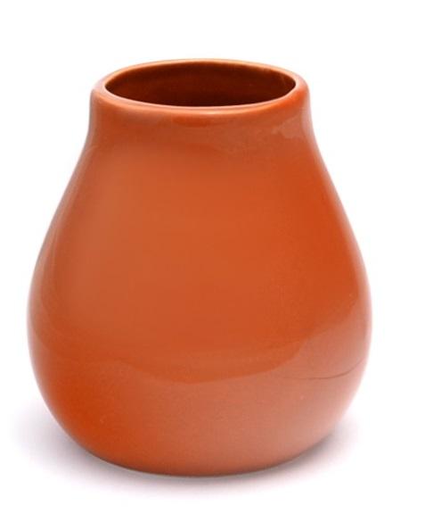 Matero keramisch bruine kalebas