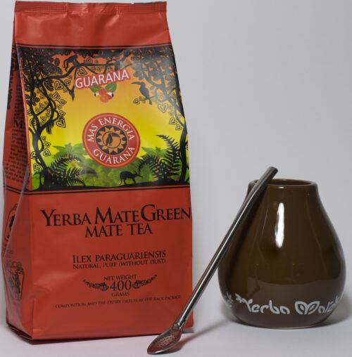 Yerba Mate green gift set bruin