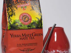 Yerba Mate green gift set rood