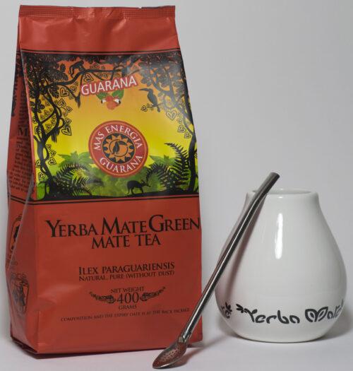 Yerba Mate green gift set wit
