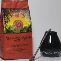 Yerba Mate green gift set zwart