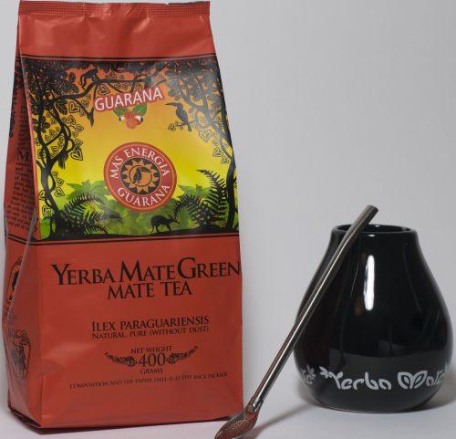 Yerba Mate green gift set zwart