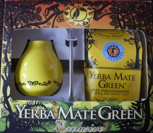 Yerba Mate Fitness geel