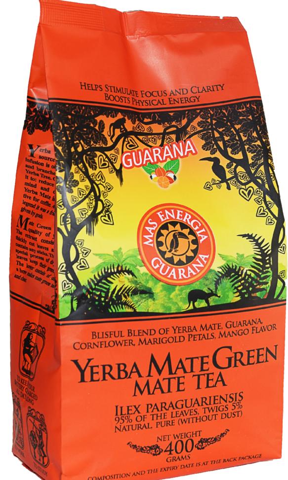 green energia guarana 400gr